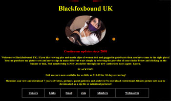Blackfox bondage home page